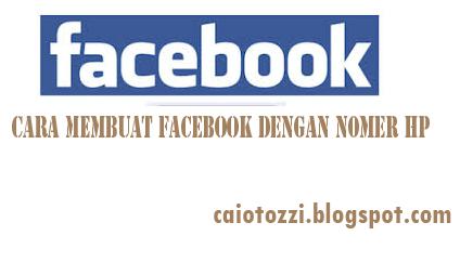 cara membuat daftar facebook facebook tanpa email