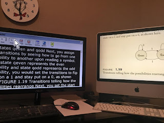 ZoomText DocReader (left) Mac Zoom of pdf (right)