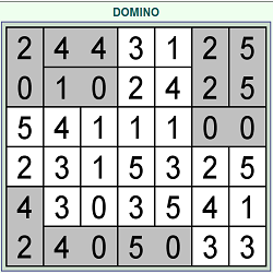 Online Domino Hunt  (Logical Thinking Puzzle Game)