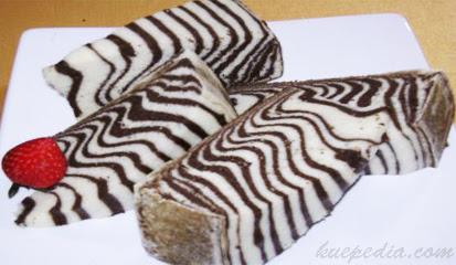 Kue Zebra Kukus Istimewa