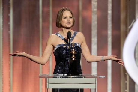 Jodie Foster Lesbian statement in Golden Globe 2013