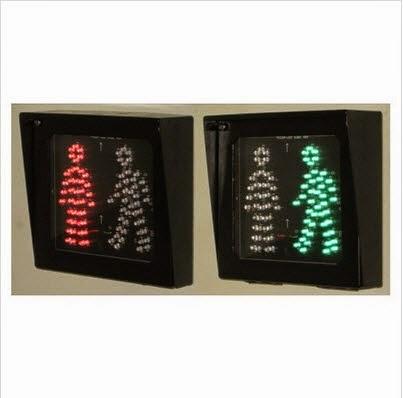 Hình ảnh đèn tín hiệu giao thông đi bộ xanh đỏ loại vuông