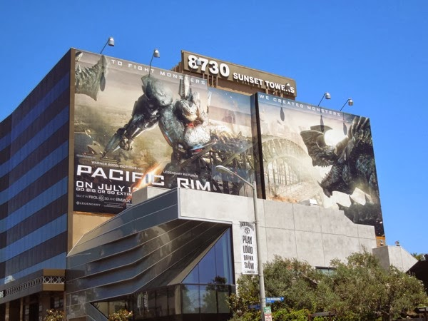 Pacific Rim movie billboard