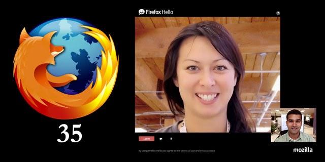 Firefox 35 Terbaru Hadir dengan Fitur Video Chat