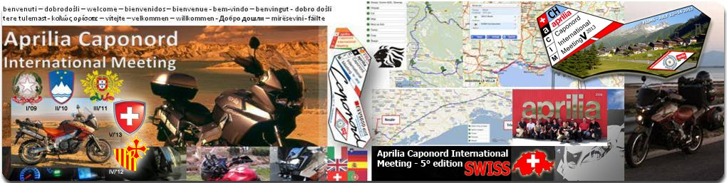 Aprilia Caponord International Meeting'5 - 2013 SWISS Edition