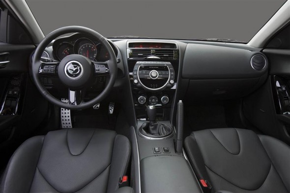 Interior shot of 2011 Mazda RX-8