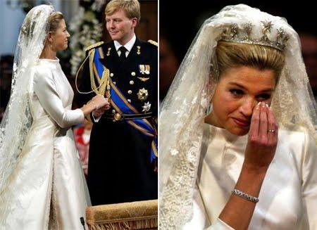Принцеса Максима булчинска рокля