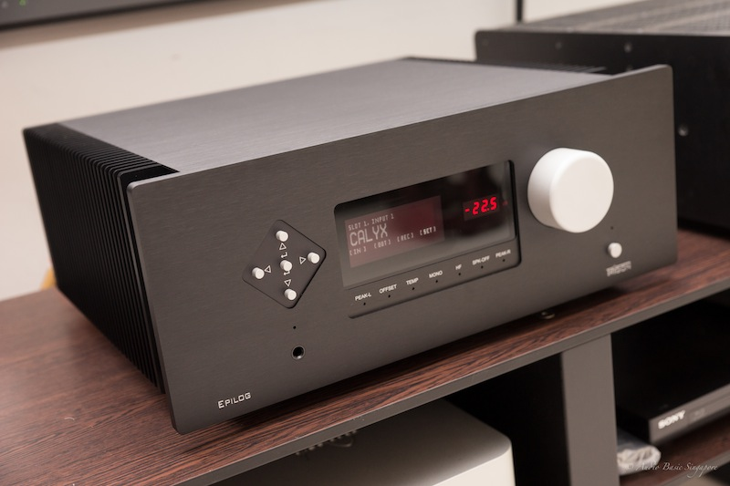 Audio Basic: TRIGON Epilog Amplifier