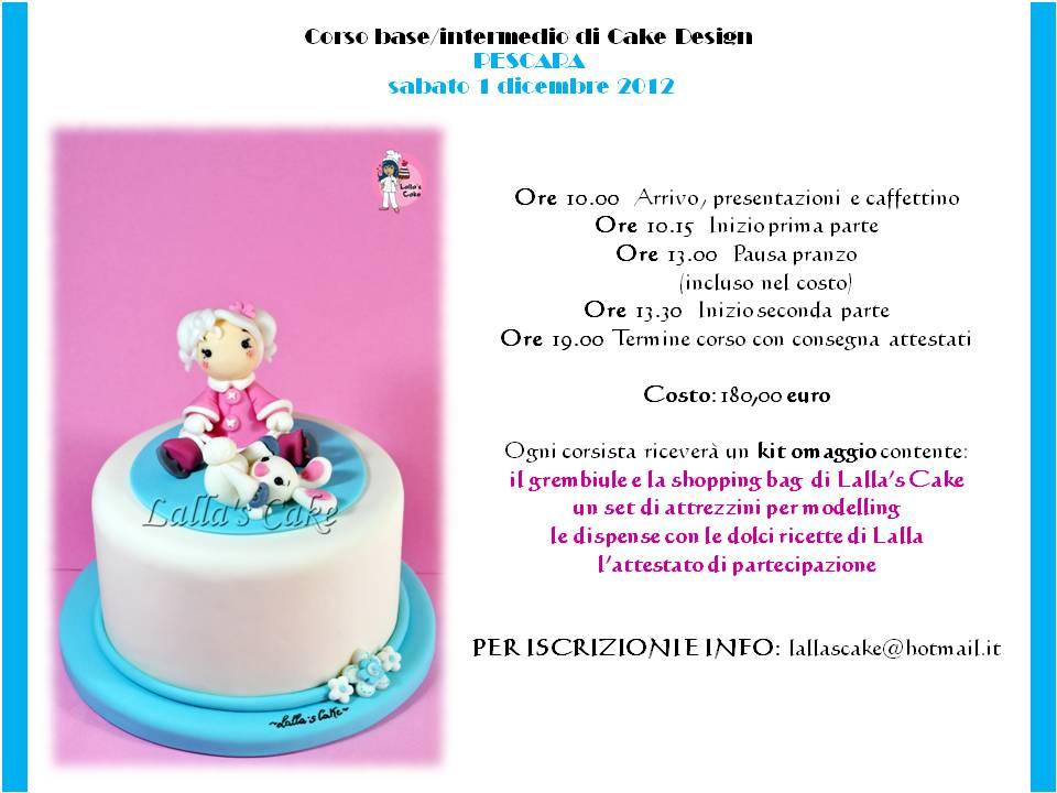 Corso di cake design a pescara lalla 39 s cake cake design for Corso di designer