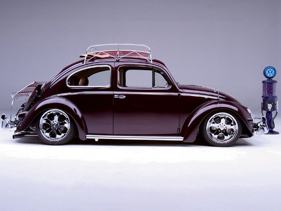 Pristine Vw Beetle Complete With Roof Rack