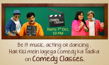 Comedy Classes Show on LifeOk Wiki |Starcast |Story |Timing |Video