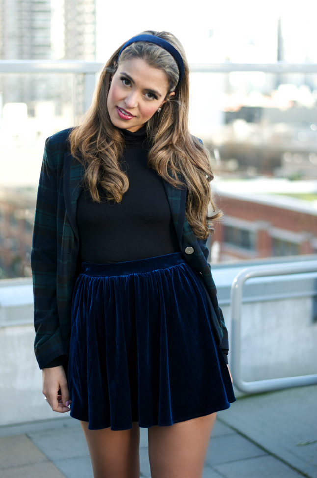 She Wore Blue Velvet   Gumboot Glam   A Vancouver Based Fashion and Lifestyle Blog