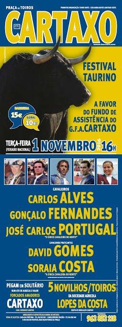 CARTAXO - 1 DE NOVEMBRO