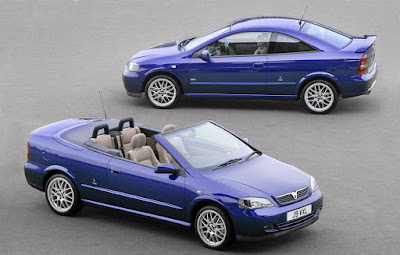 The Holden Astra Convertible, unfortunately only Europe got the Coupe
