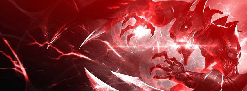 League of Legends Champions - Aatrox - Cover Photos Facebook