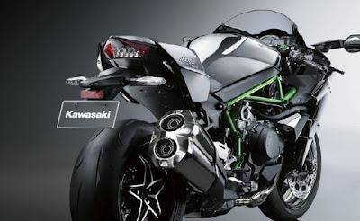 Harga Motor Kawasaki Ninja H2 - Motor Tercepat di Dunia