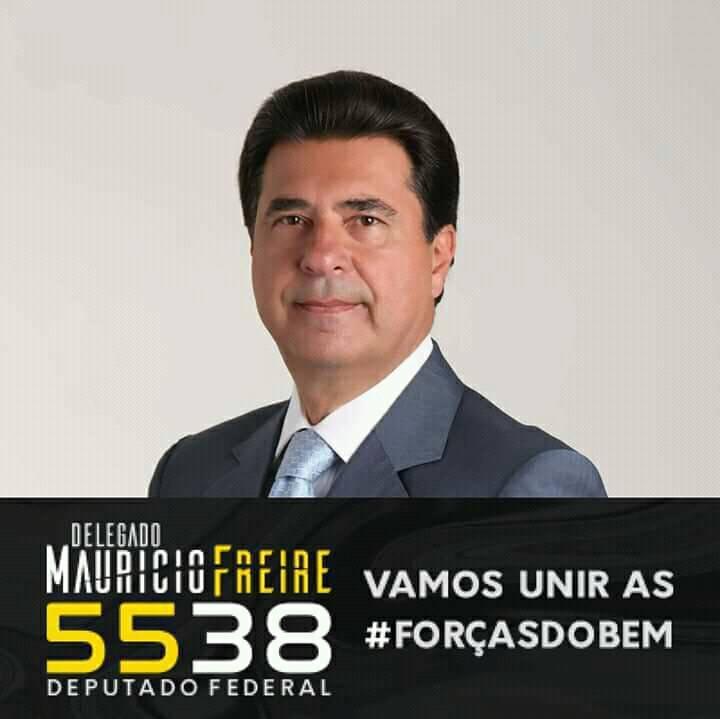 Eu apoio o Delegado Maurício Freire