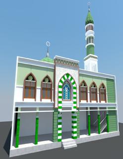 Rencana Gambar Masjid Al Barokah