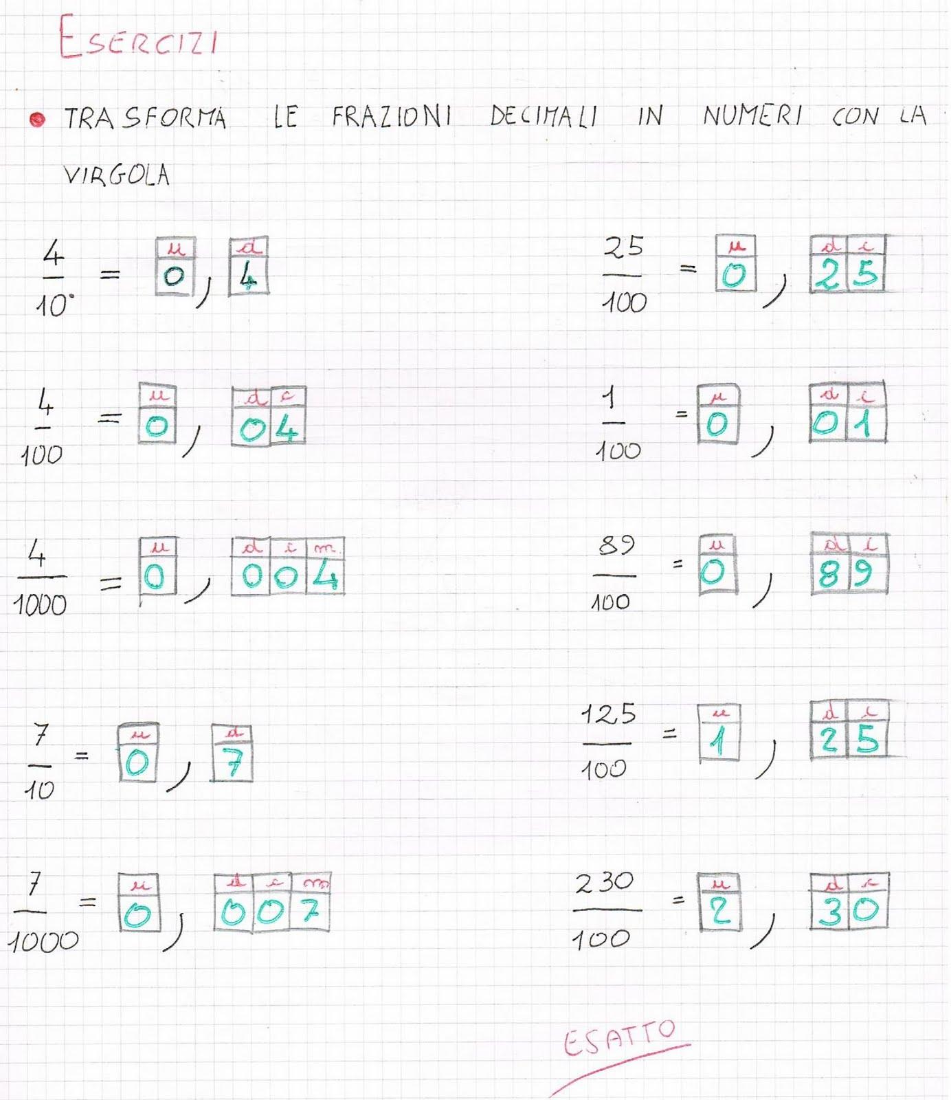Favorito Frazioni decimali, operazioni, divisione con dividendo decimale JO66