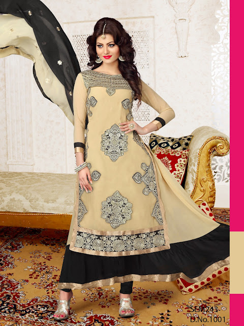 New Arrival Ankle Length Georgette Anarkali Suit
