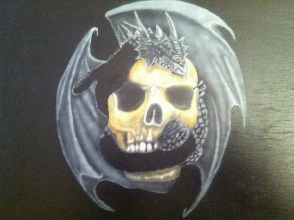 photo2 tuto skull et dragonpar bysoairdisign