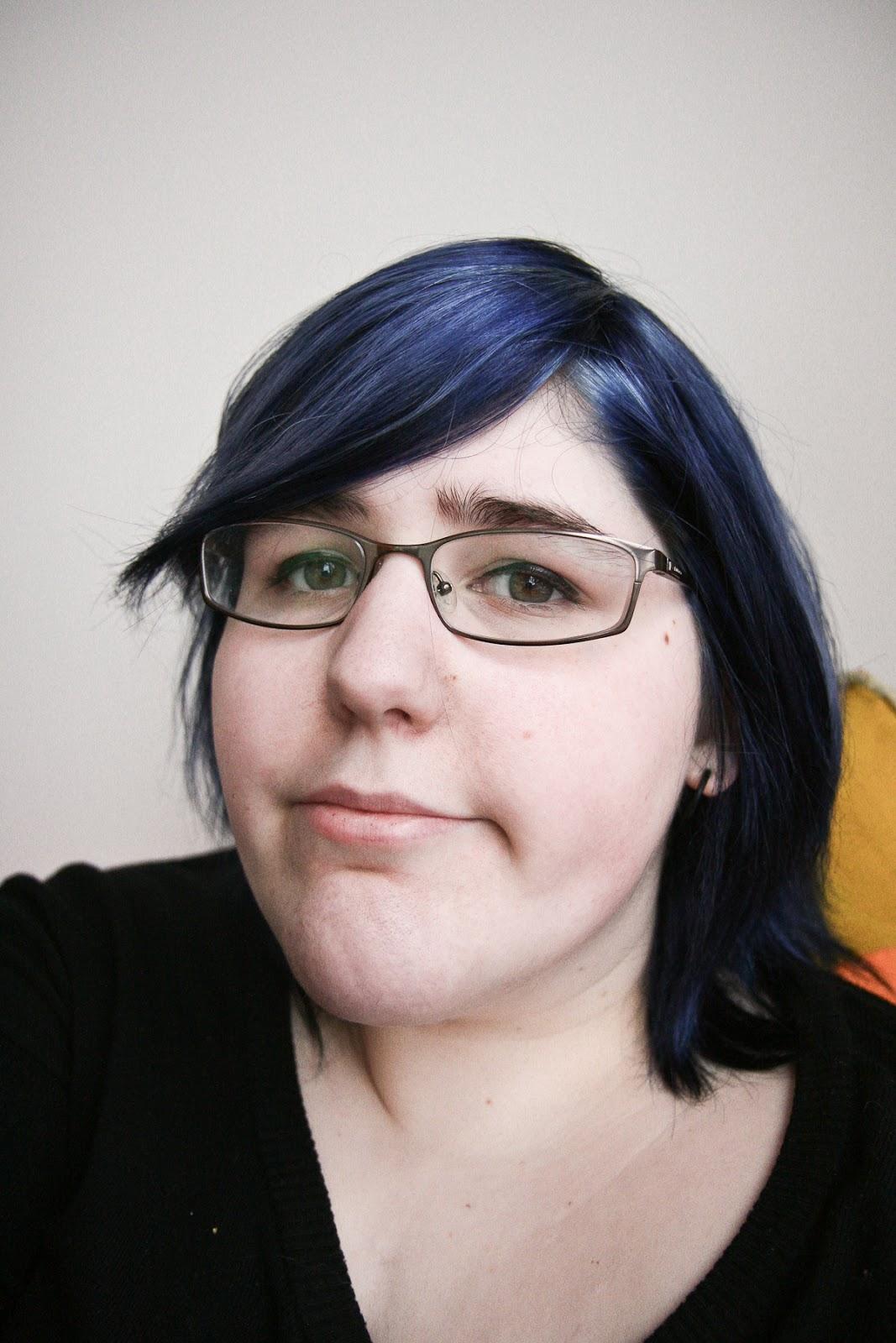 Black Hair With Purple...