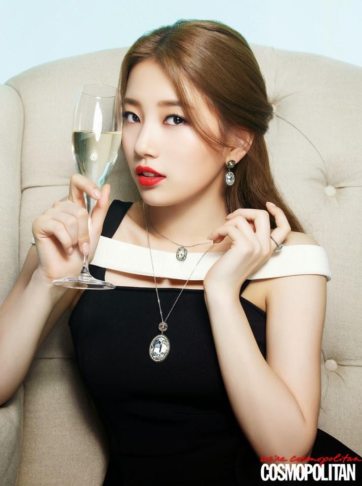 Suzy miss A - Cosmopolitan Magazine February Issue 2014