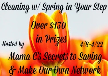 Mohawk Carpets + More Cleaning w/ Spring In Your Step Giveaway US Ends 4/22