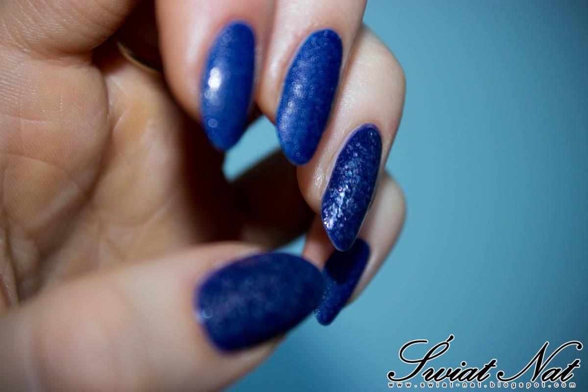 wibo sand piasek glitter matte mani nailart