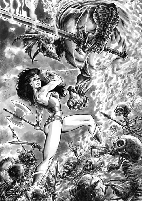 Wonder Woman (DC Comics) Character Review - Wonder Woman Vs Ares
