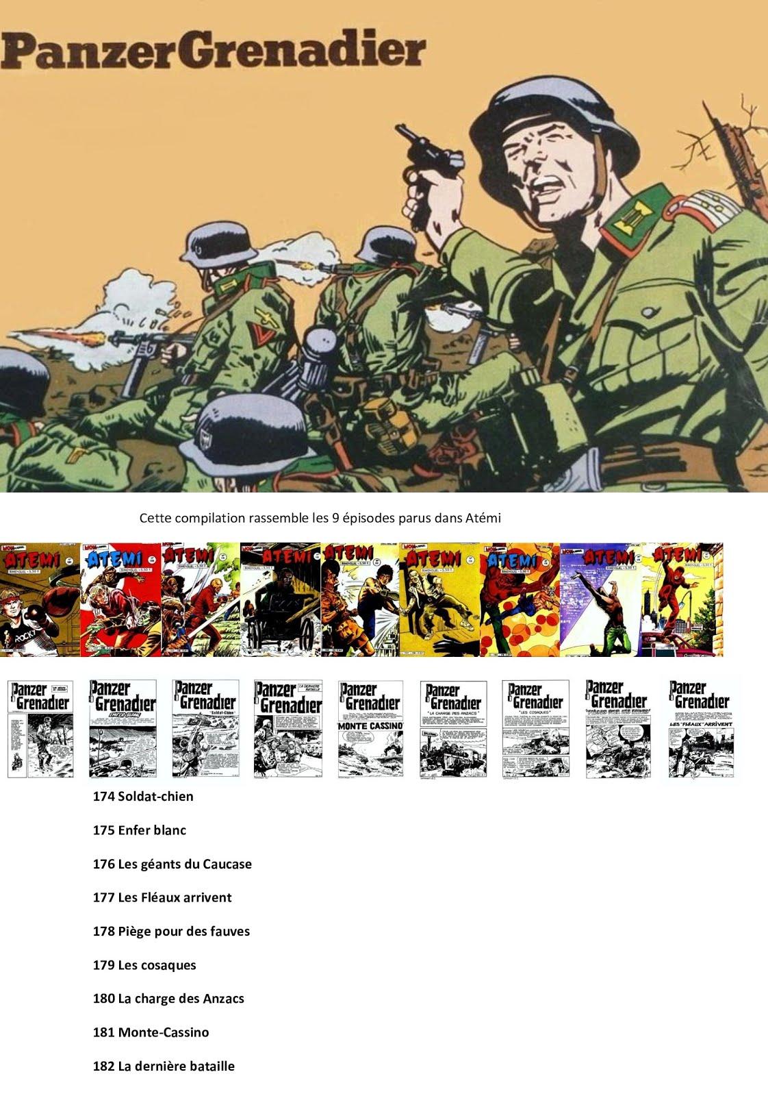 Panzer Grenadier dans Atemi (1984)- Compilation de Zapman