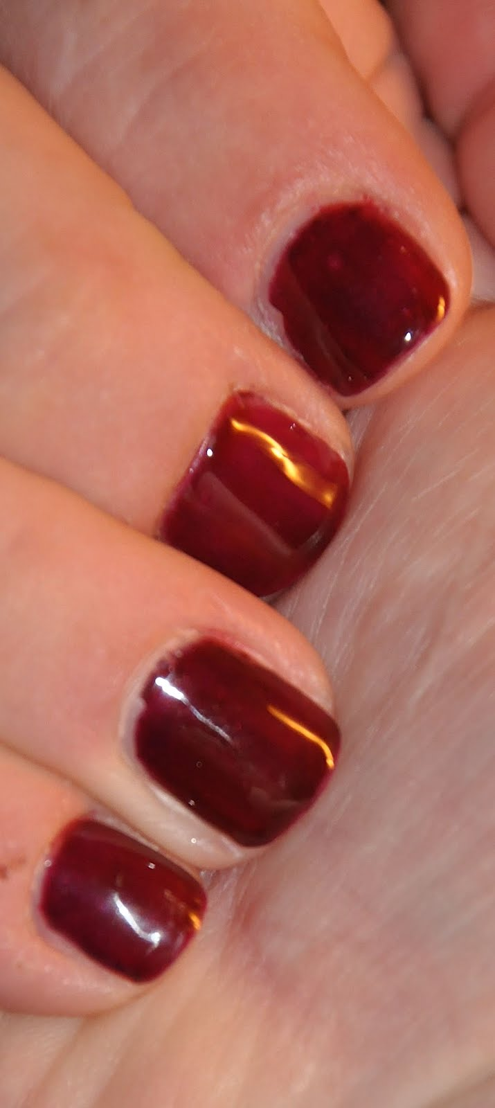 OPI Gelcolor, CND\'s Shellac, and Gelish - the pictures