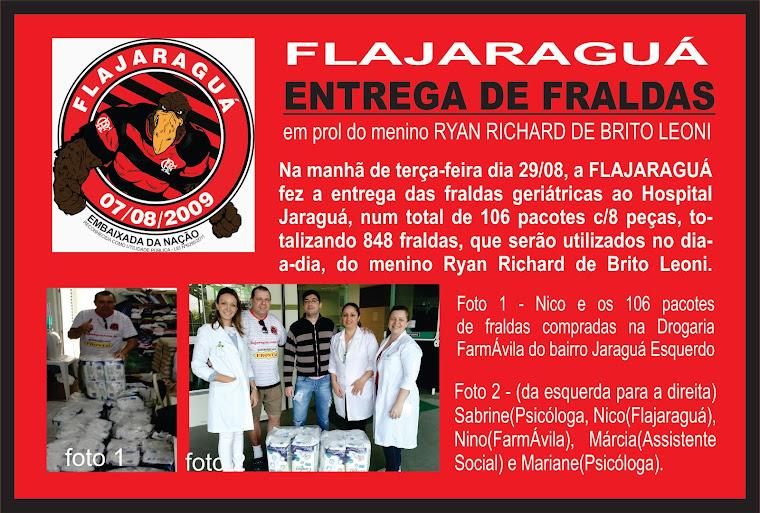 ENTREGA DE FRALDAS!