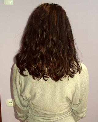 Niedziela dla włosów (23) i moje kosmyki ostatni raz przed wizytą u fryzjera.