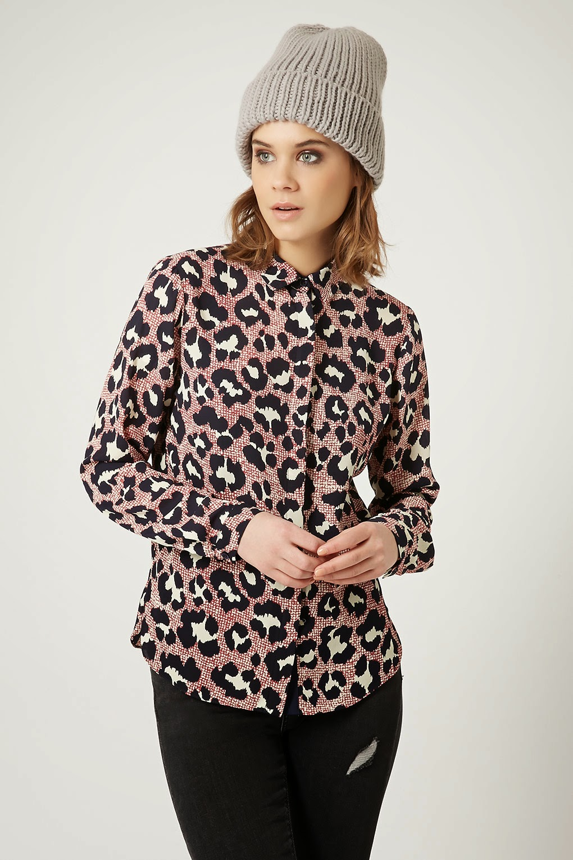 pink leopard shirt
