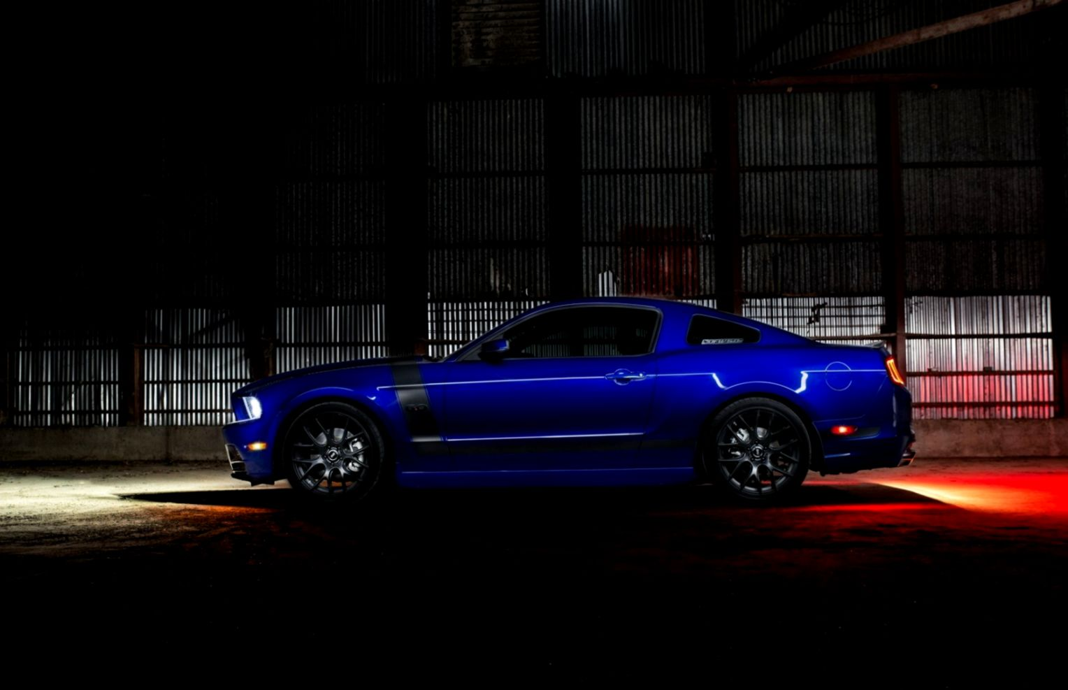 Ford Mustang Warehouse Car HD Wallpaper   FreeWallsUp