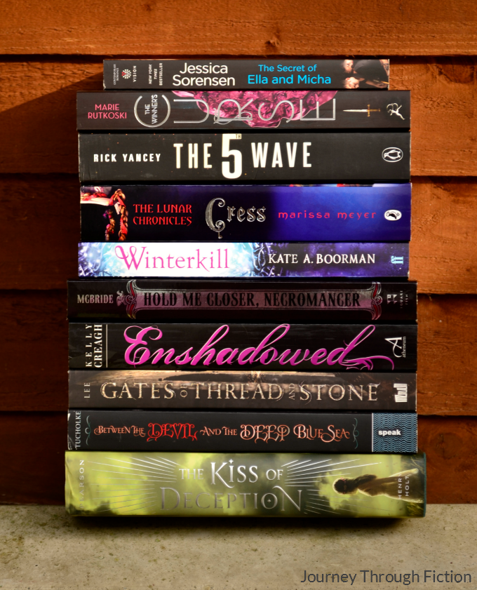 Journey Through Fiction weekly wrap up