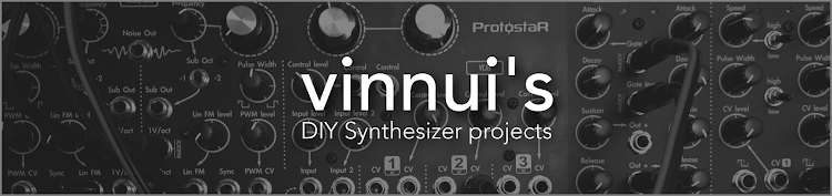 vinnui's DIY analog synthesizer
