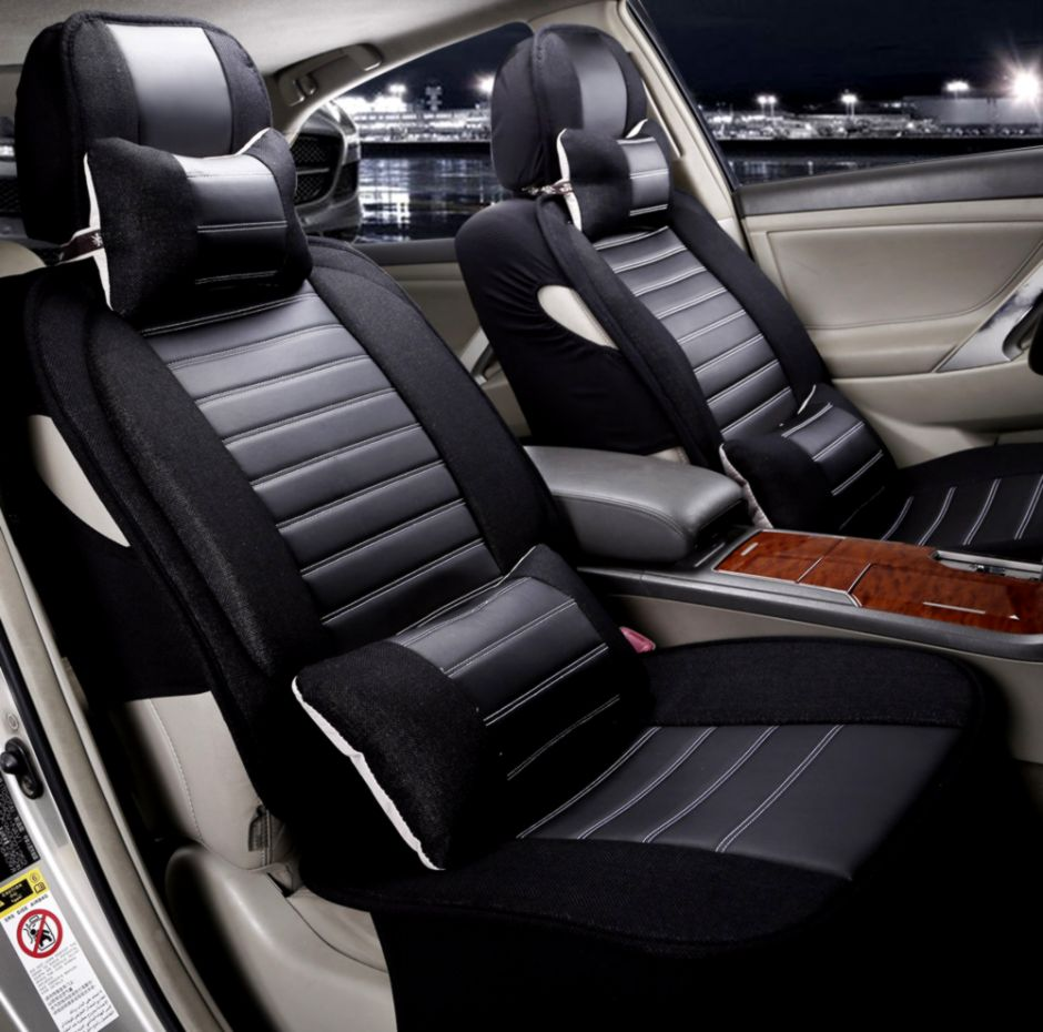 2015 Universal Car Seat Covers Comfortable Luxury Winter Car Seat