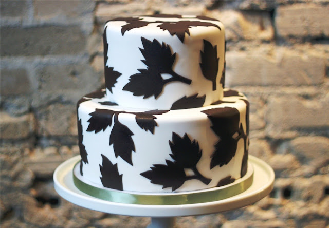 Autumn Leaf Cake Minneapolis
