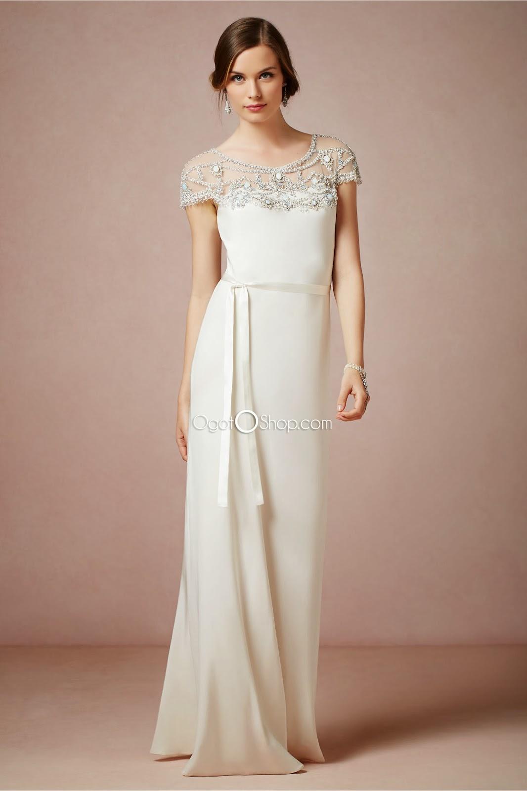 Georgette Wedding Dress 4 New Look elegant in this