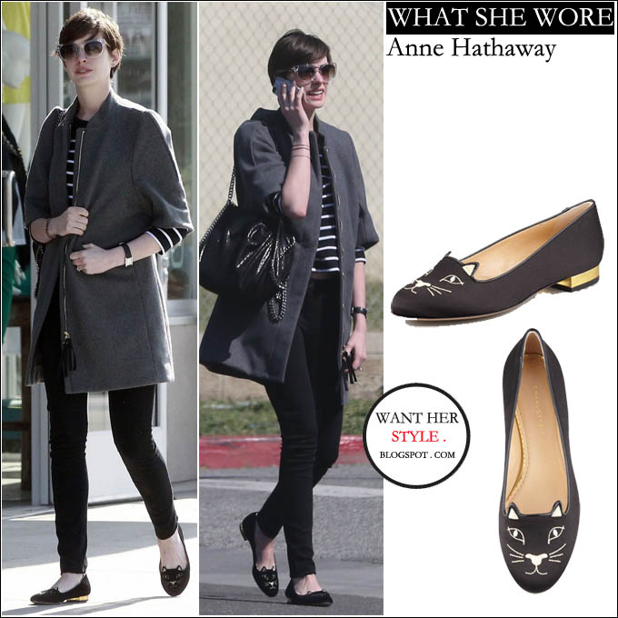 Anne Hathaway Outfits: What Celebrities Wore And