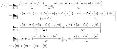 Turunan Fungsi y = uv