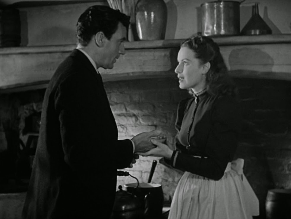 Walter Pidgeon and Maureen O'Hara in How Green Was My Valley