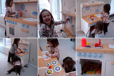 Guidecraft pretend kitchen