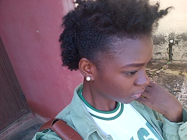 Mohawk Styles For Natural Hair Natural Hair Mohawk From