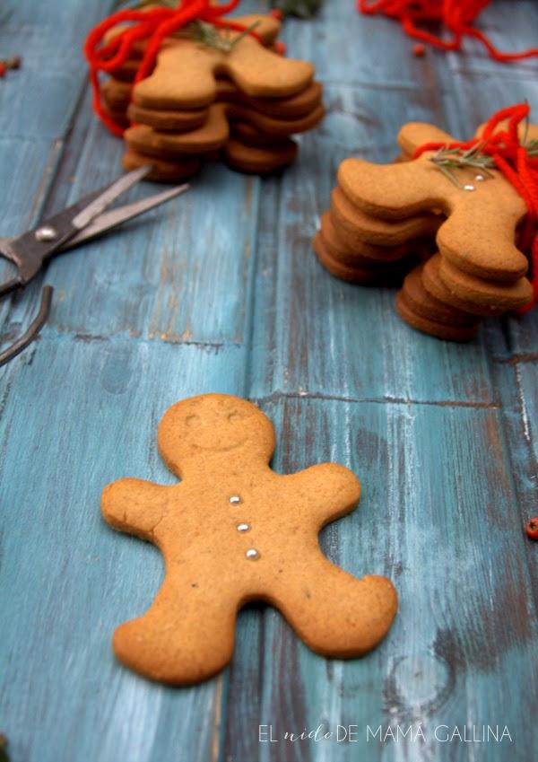 galletas de especias y miel