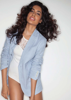 Sarah Jane Dias lovely pics from FHM India July 2014