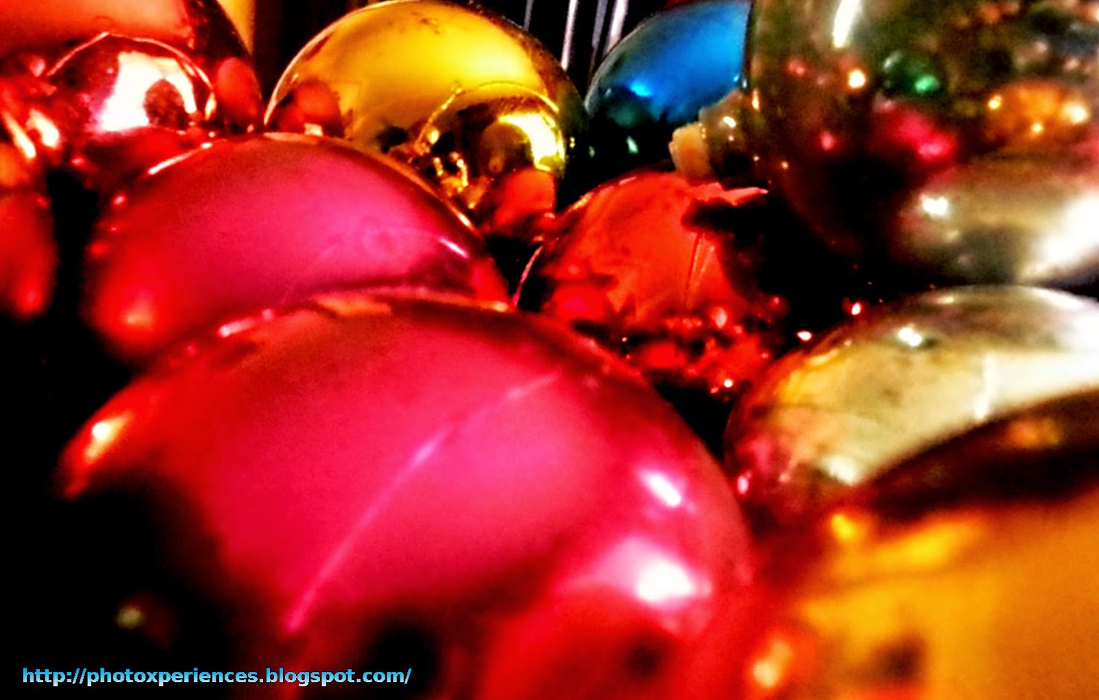 Colored balls - Bolas de colores
