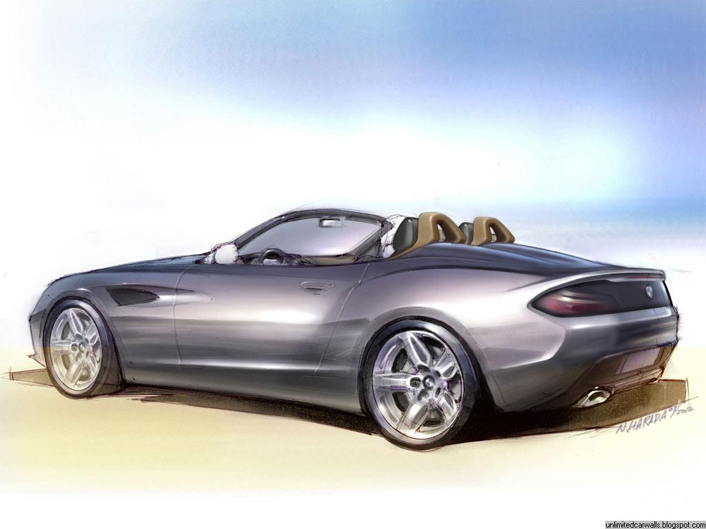 Bmw Zagato Roadster Latest Car Walls
